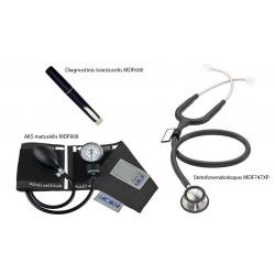 """Kraujospūdžio matuoklio rinkinys """"MDF Calibra Set"""" (MDF Instruments, JAV)"""