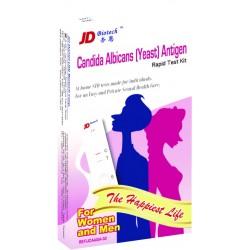 """Testas """"Candida"""" pienligės (makšties kandidozės) diagnostikai šlapime (moterims ir vyrams), (1 testas) (JD, Taivanis)"""