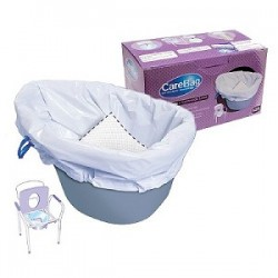 CareBag® higieniniai įdėklai tualeto kėdei, 12 vnt. (vienkartiniai), (Cleanis, Prancūzija)