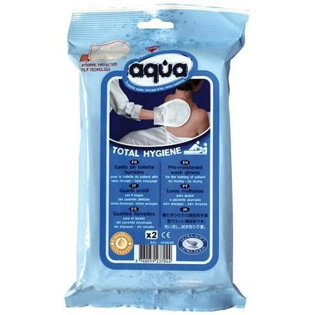 """Higieninė šluostė kūnui valyti """"Aqua® Total Hygiene"""", 2 vnt. (vienkartinė), (Cleanis, Prancūzija)"""