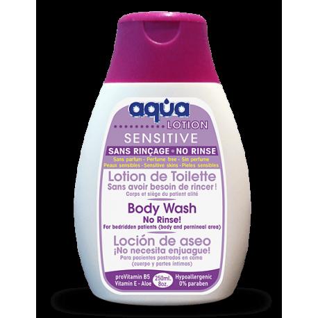 """Higieninis losjonas kūnui valyti """"Aqua® Sensitive"""", 250ml, (Cleanis, Prancūzija)"""