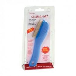 """Šukos nuo utėlių """"Nitcomb-M2"""", (1 vnt.) (Shantys Ltd., Anglija)"""