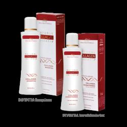 Šampūnas ir kondicionierius, su INVENTIA® kolagenu, 2 x 200 ml