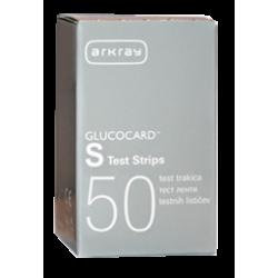 Gliukozės testų juostelės Glucocard S N50 (Arkray, Japonija)