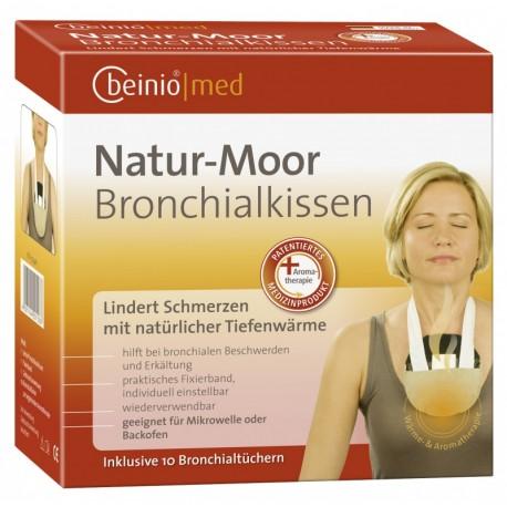 """Šildanti durpių pagalvėlė bronchams """"beinio®med Natur-Moor"""", N1"""