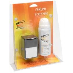 NarcoSpray® General Screening - narkotinių medžiagų aplinkoje aptikimui, 150 testų