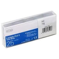 Lactate Pro 2 Test Strip – testų juostelės laktatų kiekio kraujyje matavimui N25 (Arkray, Japonija)