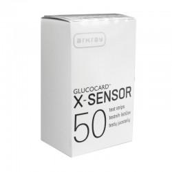 Gliukozės testų juostelės  Glucocard X-Sensor N50 (Arkray, Japonija)