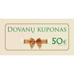 Dovanų kuponas 50 Eur
