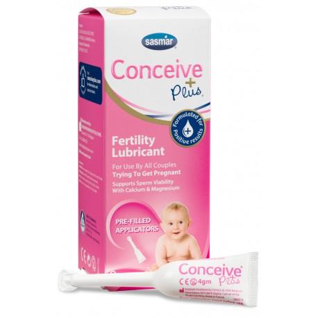 Conceive Plus vaisingumo lubrikantas, aplikatoriai 3x4g