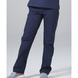 Medicininė mot. pižama - kelnės (tamsiai mėlynos sp.)