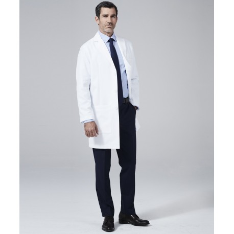 """Medicininis chalatas vyr. """"E. Wilson Slim Fit M3"""" (baltos sp.)"""