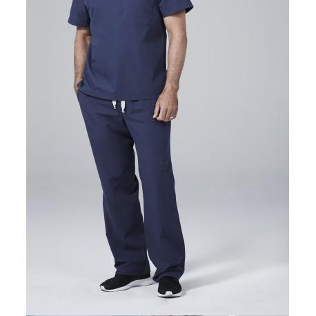 Medicininė vyr. pižama - kelnės (tamsiai mėlynos sp.)