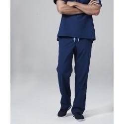 Medicininė vyr. pižama - kelnės (mėlynos sp.)
