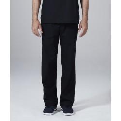 Medicininė vyr. pižama - kelnės (juodos sp.)