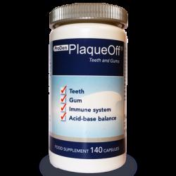 ProDen PlaqueOff® dantims ir dantenoms (140 kapsulių), (Švedija)