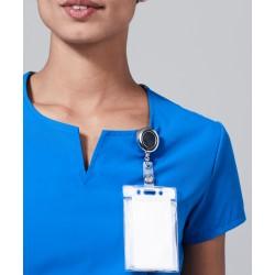 """Medicininė mot. pižama – viršus """"Horizon"""" (karališka mėlyna sp.)"""
