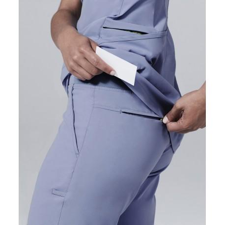 """Medicininė mot. pižama – kelnės """"Argon"""" (šviesiai mėlynos sp.)"""