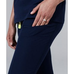 """Medicininė mot. pižama – kelnės """"Delta"""" (tamsiai mėlynos sp.)"""