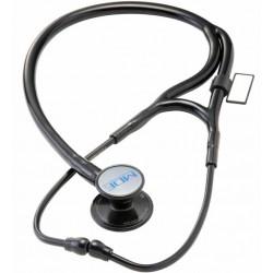 """Stetofonendoskopas """"MDF 797DD ER Premier"""" , (MDF Instruments, JAV) - Visas juodas (BlackOut)"""