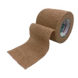 COFLEX® - elastinis tvarstis kūno spalvos, 3,8cm x 4,5m