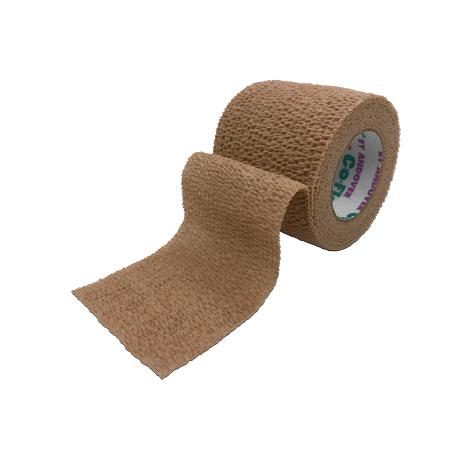 COFLEX® - elastinis tvarstis 7,5 cm x 4,5 m, (kūno spalvos)