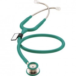 "Žalias (OM) - Stetofonendoskopas pediatrinis ""MDF 777C Premium Dual Head - Pediatric"" , (MDF Instruments, JAV)"