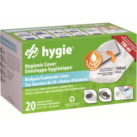 Hygie® higieniniai įdėklai basonams, 20 vnt. (vienkartiniai)