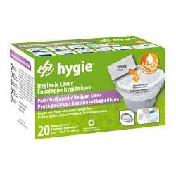 Hygie® higieniniai įdėklai tualeto kėdei, 20 vnt. (vienkartiniai)