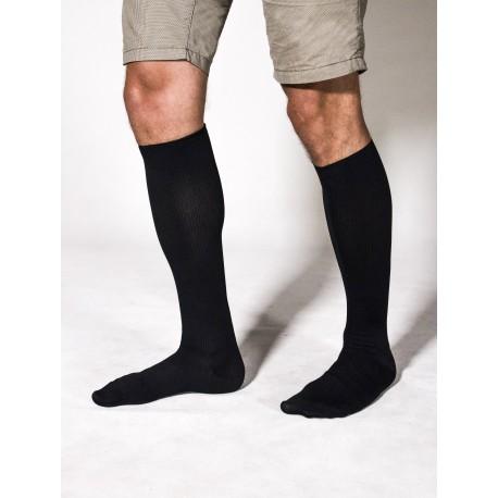 Kompresinės kojinės VARIS 200 denų, juodos spalvos, 44/45 dydis