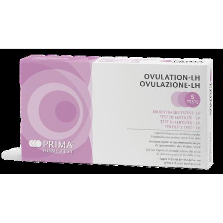 PRIMA LH testas, ovuliacijos diagnostikai (5 testai), N5