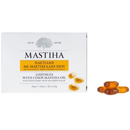 """Pastilės burnos higienai """"MASTIHA"""", 20 čiulpiamųjų pastilių"""