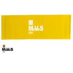 Elastinės juostos kilpa – geltona (silpna) 7,5cm x 30cm