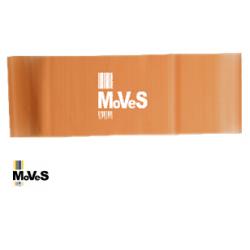 Elastinės juostos kilpa –gelsvai ruda (ypač silpna) 7,5 cm x 30cm