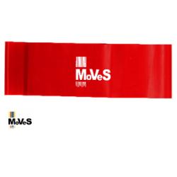 Elastinės juostos kilpa – raudona (vidutinė) 7,5cm x 30cm