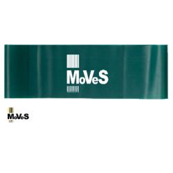 Elastinės juostos kilpa – žalia (stipri) 7,5cm x 30cm