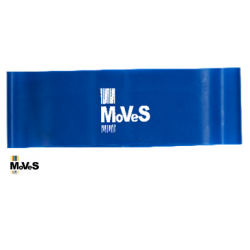 Elastinės juostos kilpa – mėlyna (labai stipri) 7,5cm x 30cm