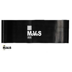 Elastinės juostos kilpa – juoda (ypač stipri) 7,5cm x 30cm