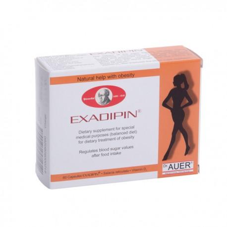 EXADIPIN®  - norintiems sulieknėti,  60 kaps.  (AAPOSPA Naturliche Heilmittel, Austrija)