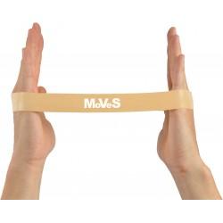 Elastinės juostos kilpa 2,5x30cm ypač silpna (gelsvai ruda) N1
