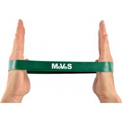 Elastinės juostos kilpa 2,5x30cm stipri (žalia) N1