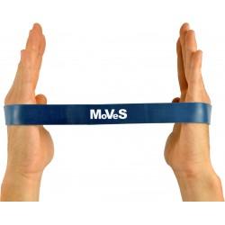 Elastinės juostos kilpa 2,5x30cm labai stipri (mėlyna) N1