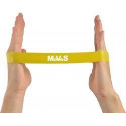 Elastinės juostos kilpa 2,5x30cm silpna (geltona) N1