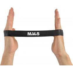 Elastinės juostos kilpa 2,5x30cm ypač stipri (juoda) N1