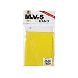 "Elastinė juosta 2,5m. geltona (silpna) ""MoVeS Band"" N1"