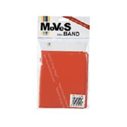 """Elastinė juosta 2,5m raudona (vidutinė) """"MoVeS Band"""" N1"""