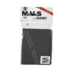 "Elastinė juosta 2,5m juoda (ypač stipri) ""MoVeS Band"" N1"