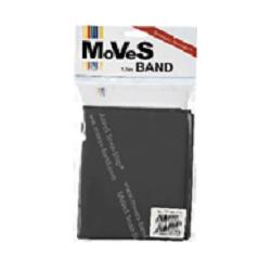 "Elastinė juosta 1,5m juoda (ypač stipri) ""MoVeS Band"" N1"
