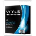 "Prezervatyvai ""VITALIS PREMIUM natural"", 3 vnt. (R&S GmbH, Vokietija)"