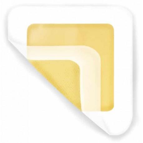Medihoney™ HCS hidrogelio tvarstis su lipniais kraštais, vidaus 11.5x11.5cm, išorinis 15x15cm (10 vnt./pak.)